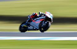 October 26, 2018 - Melbourne, Victoria, Australia - German rider Marcel Schrotter (#23) of Dynavolt Intact GP in action during day 2 of the 2018 Australian MotoGP held at Phillip Island, Australia. (Credit Image: © Theo Karanikos/ZUMA Wire)