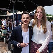 NLD/Amsterdam/20130713 - AFW 2013 Zomer, modeshow Supertrash Girls, Monsif en Diana Janssen