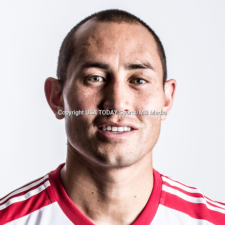 Feb 25, 2016; USA; New York Red Bulls player Luis Robles poses for a photo. Mandatory Credit: USA TODAY Sports