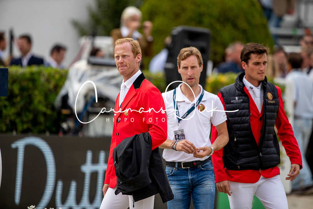 Bruynseels Niels, Devos Pieter, Philippaerts Olivier<br /> Longines FEI Jumping Nations Cup Final<br /> Challenge Cup - Barcelona 2019<br /> © Dirk Caremans<br />  06/10/2019