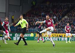 Erik Pieters of Burnley scores his sides second goal - Mandatory by-line: Jack Phillips/JMP - 04/01/2020 - FOOTBALL - Turf Moor - Burnley, England - Burnley v Peterborough United - English FA Cup