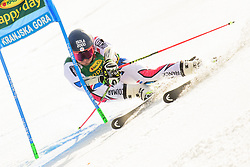 March 9, 2019 - Kranjska Gora, Kranjska Gora, Slovenia - Mathieu Faivre of France in action during Audi FIS Ski World Cup Vitranc on March 8, 2019 in Kranjska Gora, Slovenia. (Credit Image: © Rok Rakun/Pacific Press via ZUMA Wire)