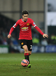 Manchester United's Ander Herrera  - Photo mandatory by-line: Joe meredith/JMP - Mobile: 07966 386802 - 04/01/2015 - SPORT - football - Yeovil - Huish Park - Yeovil Town v Manchester United - FA Cup - Third Round