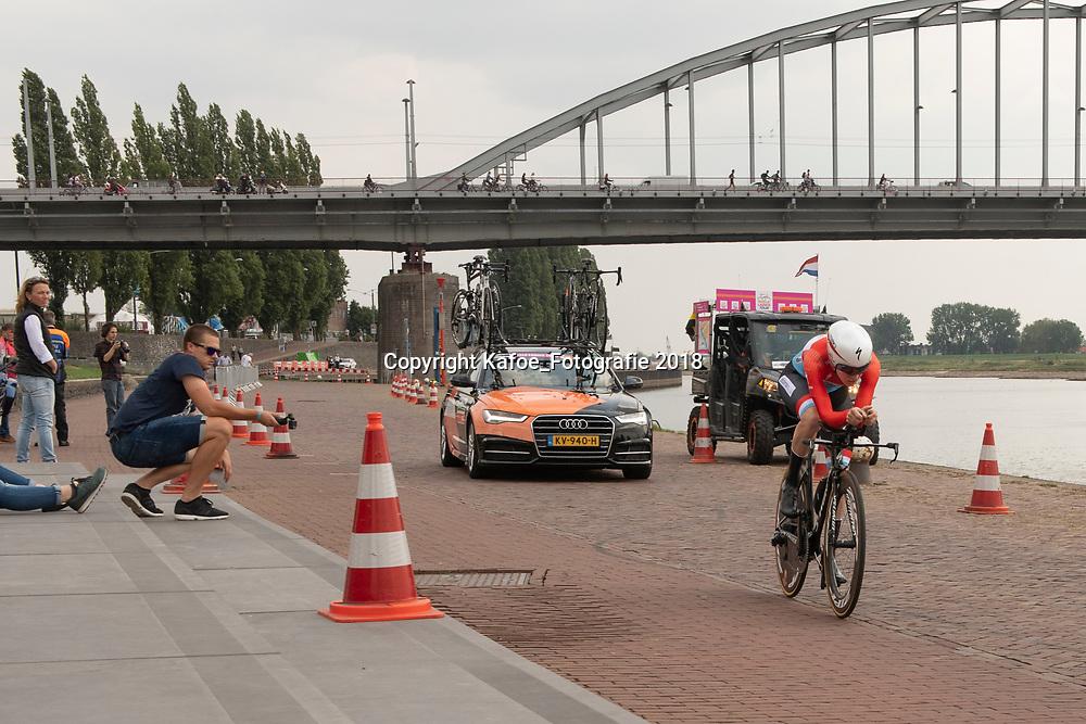 28-08-2018: Wielrennen: Ladies Tour: Arnhem<br /> Christine Majerus