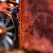 Rust And The Iron Wheel - Motor Transport Museum - Campo, CA - Lensbaby