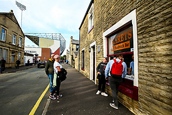 Clarets Sandwich Bar next to Turf Moor - Mandatory by-line: Robbie Stephenson/JMP - 30/08/2018 - FOOTBALL - Turf Moor - Burnley, England - Burnley v Olympiakos - UEFA Europa League Play-offs second leg