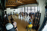 training room<br /> giorno  03 batterie<br /> I Meeting internazionale Tiro a Volo Nuoto<br /> Roma  Italy 4-6/06/2015<br /> Photo Giorgio Scala/Deepbluemedia