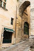 FRANCE, Saint Emilion<br /> La Porte de la Cadene (the Door of the Chain), dating back to the XVI century