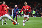 Memphis Depay of Manchester United before the Barclays Premier League match between Bournemouth and Manchester United at the Goldsands Stadium, Bournemouth, England on 12 December 2015. Photo by Phil Duncan.