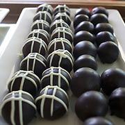Chocolates at Kersteins Chocolates,  Nelson. New Zealand, 1st February 2011, Photo Tim Clayton