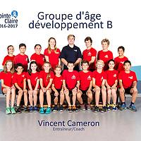 Groupe d'âge  développement B