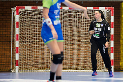 Karmen Korenic of Slovenia during handball match between Women national teams of Slovenia and Denmark in Round #5 of Qualifications for Women's EHF EURO 2018 Championship in France, on May 30, 2018 in Sports hall Golovec, Celje, Slovenia. Photo by Urban Urbanc / Sportida