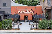 Somewhere restaurant at 1135 Bardstown Road, next to Nowhere bar. July 26, 2016