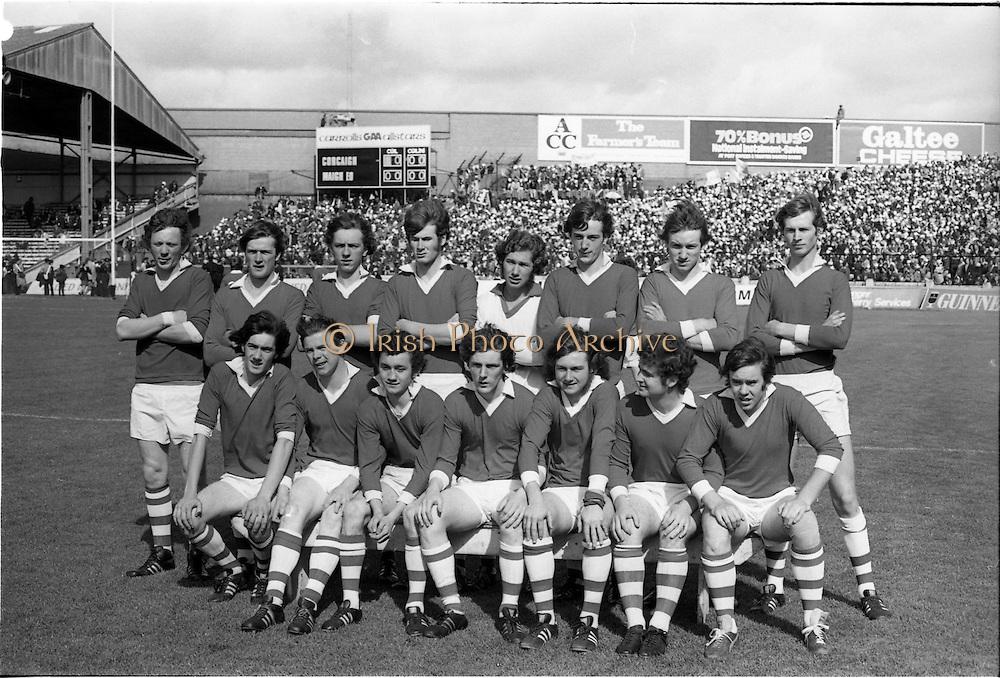23/09/1974<br /> 09/23/1974<br /> 23 September 1974 <br /> All Ireland Minor Football Final - Cork v Mayo at Croke Park, Dublin.  The Cork Team.