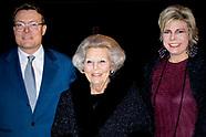 Beatrix, Constantijn en Laurentien bij opening Holland Dance Festival