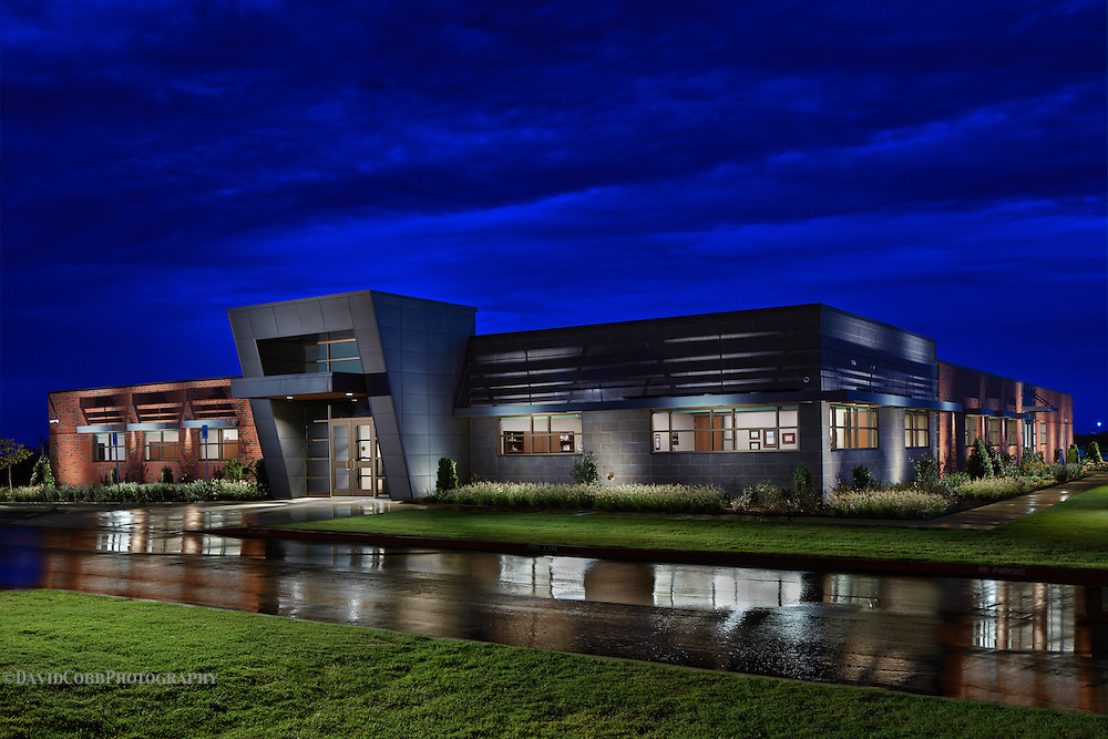 Canadian Valley Technology Center in El Reno photographed by David Cobb Photography for M+A Architecture