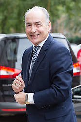 © Licensed to London News Pictures. 09/09/2015. London, UK. Alastair Stewart arrives at the ITV Studios in London. Photo credit : Vickie Flores/LNP