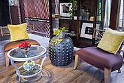 Lounge of Ametis Villa in Canggu. Bali, Indonesia.