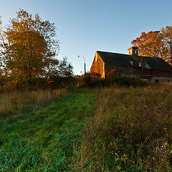 The barn at Elmwood Farm in Hopkinton, Massachusetts.