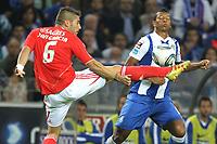 20110923: PORTO, PORTUGAL – FC Porto vs SL Benfica: Portuguese League 2011/2012. In photo: Javi garcia and Guarin . PHOTO: Ricardo Estudante/CITYFILES
