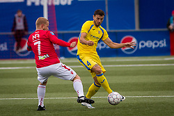 Amedej Vetrih of NK Domzale during 1st Leg football match between FC Valur Reykjavik and NK Domzale in 2nd Qualifying Round of UEFA Europa League 2017/18, on July 13, 2017 in Reykjevik, Iceland. Photo by Ziga Zupan / Sportida