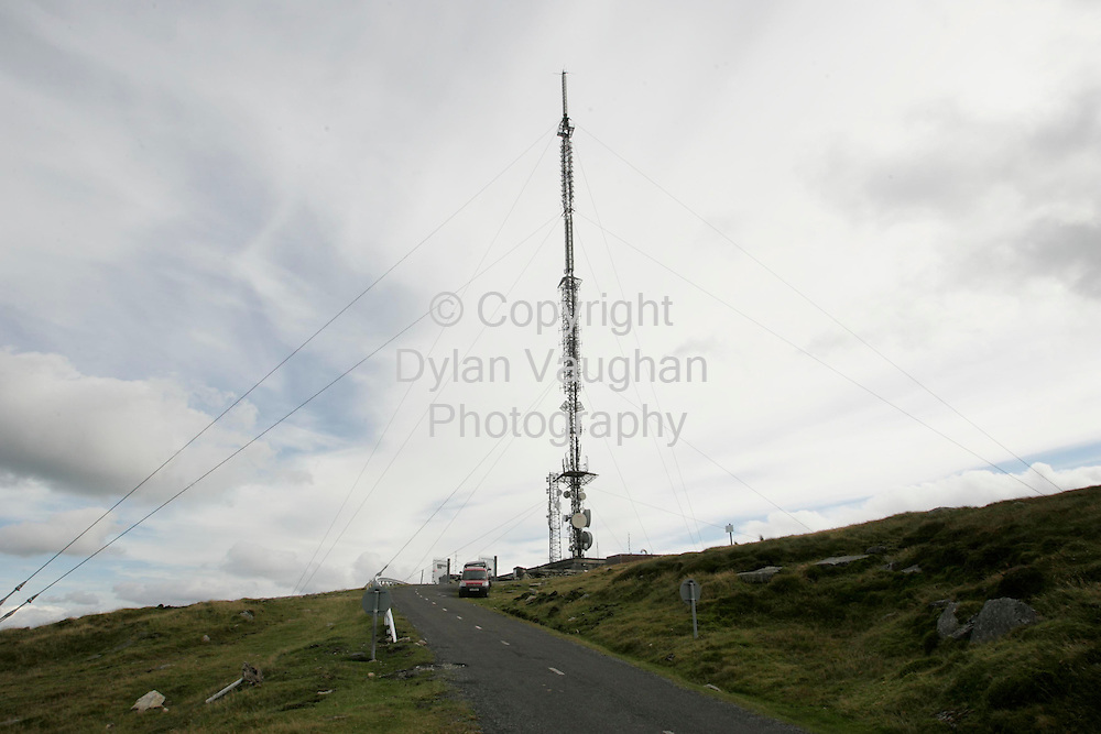 24/8/2006.The RTE transmitter at Mount Leinster in County Carlow..Picture Dylan Vaughan.