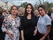 ALEX SHULMAN; NIGELLA LAWSON; VICTORIA BECKHAM, Alex Shulman goodbye party. Dock Kitchen, Ladbroke Grove. London. 22 June 2017