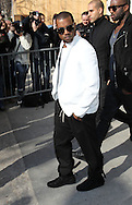 PARIS, FRANCE - MARCH 08:  Kanye West arrives at the Chanel Ready to Wear Autumn/Winter 2011/2012 show during Paris Fashion Week at Grand Palais on March 8, 2011 in Paris, France.  (Photo by Tony Barson/WireImage)