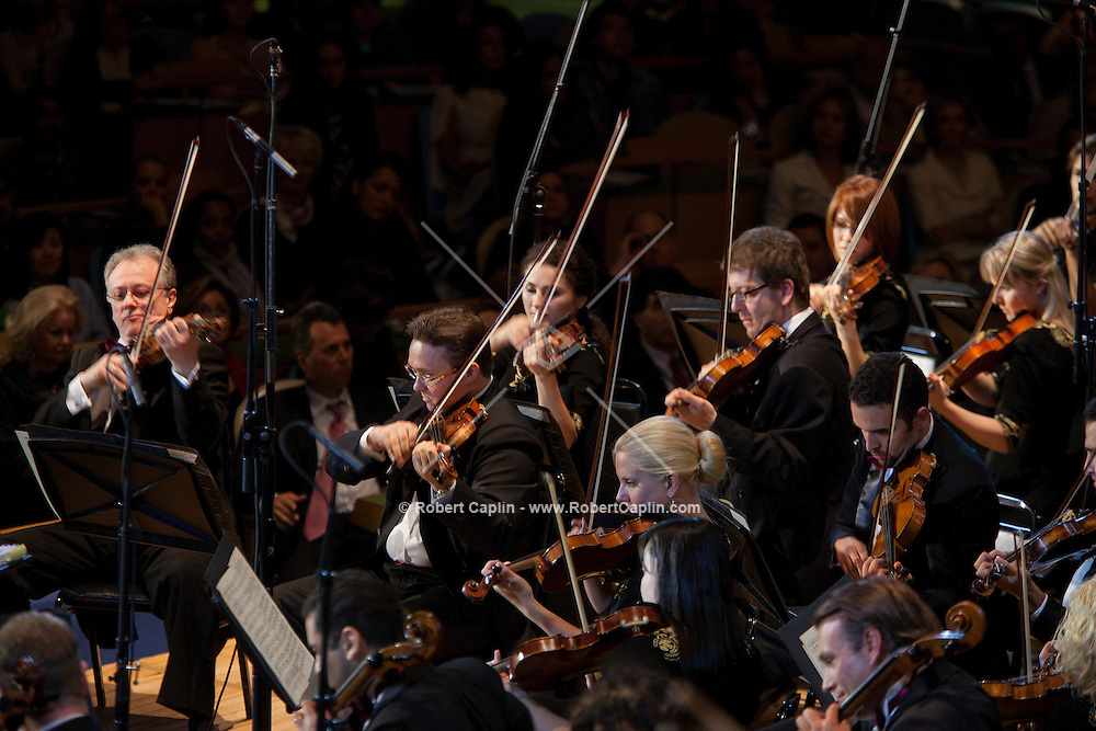Qatar Philharmonic Orchestra performs at the United Nations. ..Photo © Robert Caplin...
