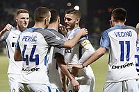esultanza gol Mauro Icardi Goal celebration <br /> Cagliari 25-11-2017 Sardegna Arena Football Calcio Serie A 2017/2018 Cagliari - Inter Foto Daniele Buffa / Image / Insidefoto