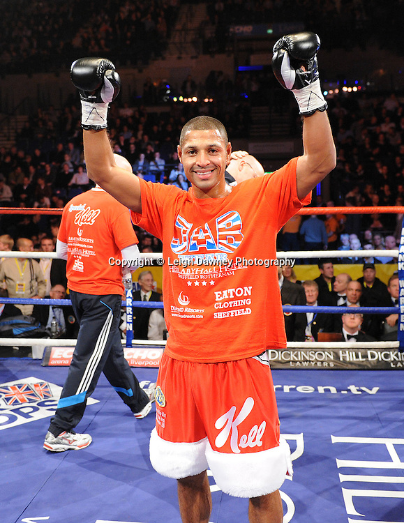 "Kell Brook (pictured) defeats Phillip Kotey at the Echo Arena, Lverpool,11th December 2010,Frank Warren.tv Promotions ""Return Of The Magnificent Seven"" © Photo Leigh Dawney"