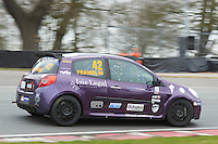 #42 Sarah FRANKLIN Sarah Franklin Racing with Westbourne Motorsduring Michelin Clio Cup Series as part of the BARC NW - Championship Raceday  at Oulton Park, Little Budworth, Cheshire, United Kingdom. March 19 2016. World Copyright Peter Taylor/PSP. Copy of publication required for printed pictures.  Every used picture is fee-liable. http://archive.petertaylor-photographic.co.uk