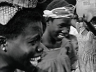 Carrier girls on the market in Lome, Togo