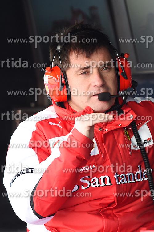 28.02.2015, Circuit de Catalunya, Barcelona, ESP, FIA, Formel 1, Testfahrten, Barcelona, Tag 3, im Bild Antonio Cuquerella (ESP) Ferrari engineer // during the Formula One Testdrives, day three at the Circuit de Catalunya in Barcelona, Spain on 2015/02/28. EXPA Pictures &copy; 2015, PhotoCredit: EXPA/ Sutton Images/ Mark Images<br /> <br /> *****ATTENTION - for AUT, SLO, CRO, SRB, BIH, MAZ only*****