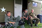 john walker, left, American huey 369, Kokomo Indiana Vietnam Veterans Reunion 2012