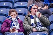 Preston North End supporters during the EFL Sky Bet Championship match between Preston North End and Sheffield Utd at Deepdale, Preston, England on 16 December 2017. Photo by Michał Karpiczenko.