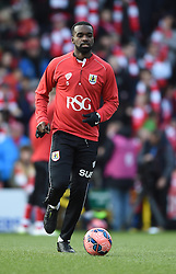 Bristol City's Karleigh Osborne ahead of the FA Cup fourth round match between Bristol City and West Ham United at Ashton Gate on 25 January 2015 in Bristol, England - Photo mandatory by-line: Paul Knight/JMP - Mobile: 07966 386802 - 25/01/2015 - SPORT - Football - Bristol - Ashton Gate - Bristol City v West Ham United - FA Cup fourth round