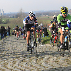 27-02-2016: Wielrennen: Omloop Nieuwsblad vrouwen: Gent<br /> GENT (BEL) wielrennen<br /> De opening van het Noord Europese wielerseizoen is traditioneel de opening van het wielerseizoen bij de mannen en vrouwen. Paterberrg Julie Leth