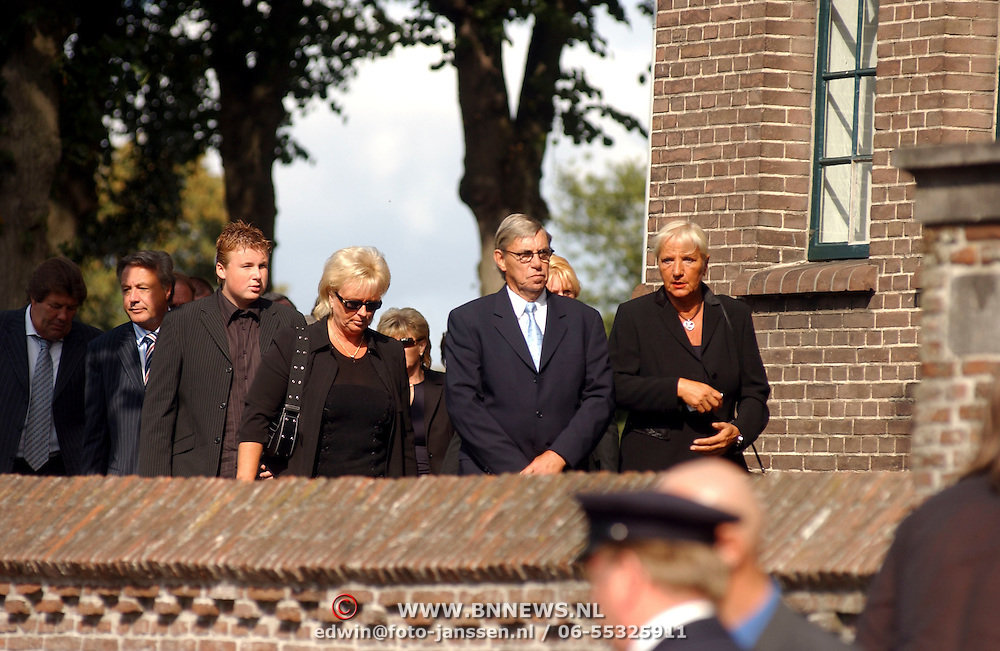 Begrafenis Bertus Luske, beveiliging