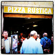 Pizza Rustica in Rome, Italy. (Sam Lucero photo)