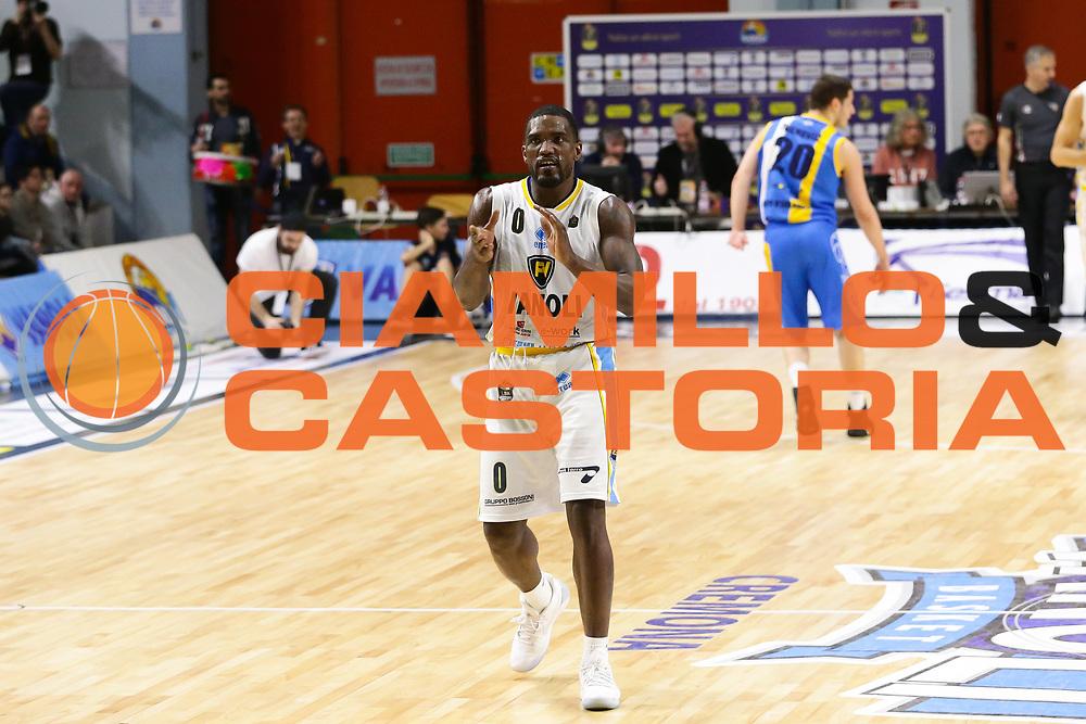 Johnson Odom<br /> Vanoli Cremona - Betaland Capo D Orlando<br /> Lega Basket Serie A 2016/2017<br /> Cremona 12/03//2017<br /> Foto Ciamillo-Castoria / M. Brondi
