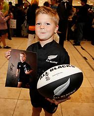 Christchurch-Rugby, RWC, All Blacks meet fans