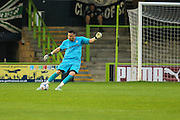 Lenny Pidgeley during the Glos Senior Cup Final match between Forest Green Rovers and Bishops Cleeve at the New Lawn, Forest Green, United Kingdom on 2 May 2016. Photo by Shane Healey.