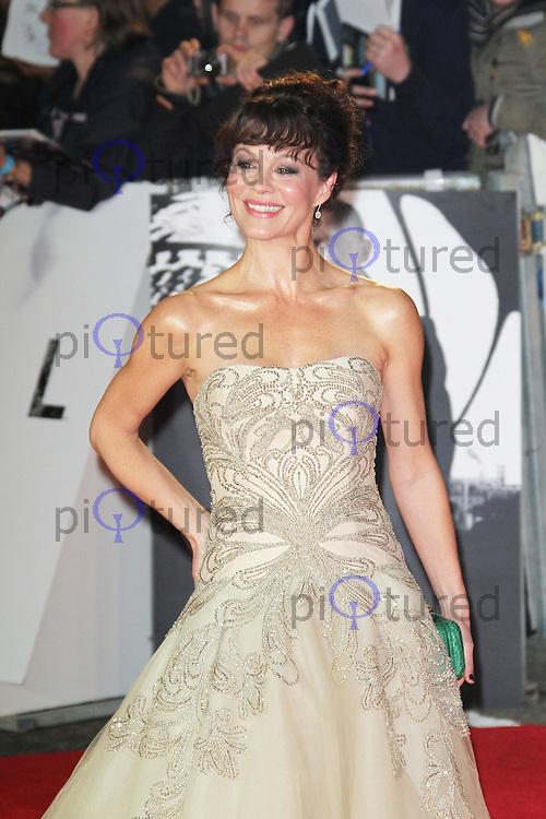 LONDON - OCTOBER 23: Helen McCrory attended the Royal World Film Premiere of 'Skyfall' at the Royal Albert Hall, London, UK. October 23, 2012. (Photo by Richard Goldschmidt)