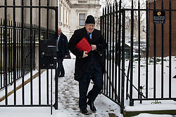 © Licensed to London News Pictures. 01/03/2018. London, UK. Foreign Secretary Boris Johnson on Downing Street for a meeting of the Cabinet ahead of Prime Minister Theresa May's speech on Brexit. Photo credit: Rob Pinney/LNP