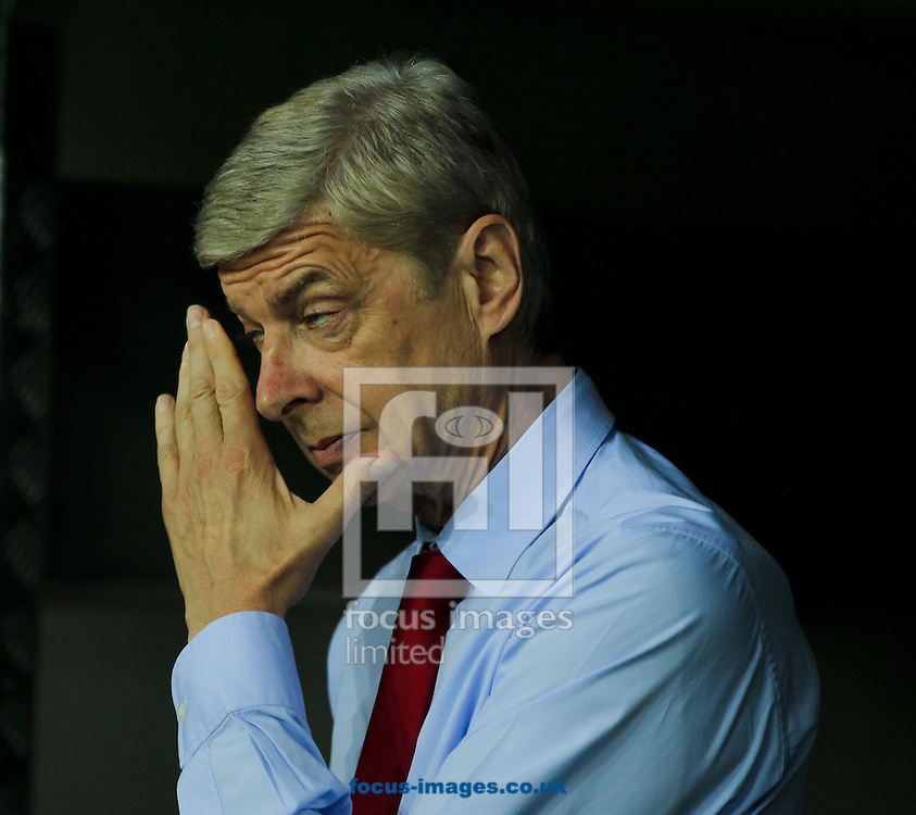 Arsenal manager Ars&egrave;ne Wenger before the UEFA Champions League match at Signal Iduna Park, Dortmund<br /> Picture by Tom Smith/Focus Images Ltd 07545141164<br /> 16/09/2014