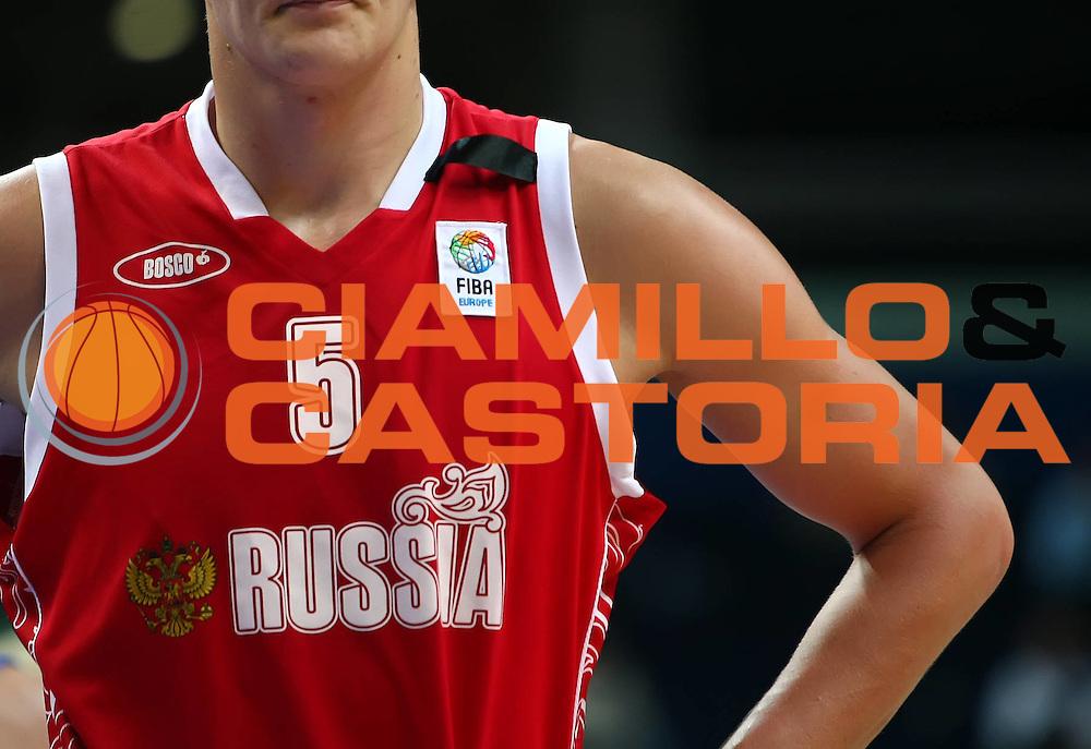DESCRIZIONE : Vilnius Lithuania Lituania Eurobasket Men 2011 Second Round Finlandia Russia Finland Russia<br /> GIOCATORE : Tomofey Mozgov<br /> SQUADRA : Russia <br /> EVENTO : Eurobasket Men 2011<br /> GARA : Finlandia Russia Finland Russia<br /> DATA : 08/09/2011 <br /> CATEGORIA : ritratto curiosita<br /> SPORT : Pallacanestro <br /> AUTORE : Agenzia Ciamillo-Castoria/Y.Matthaios<br /> Galleria : Eurobasket Men 2011 <br /> Fotonotizia : Vilnius Lithuania Lituania Eurobasket Men 2011 Second Round Finlandia Russia Finland Russia<br /> Predefinita :