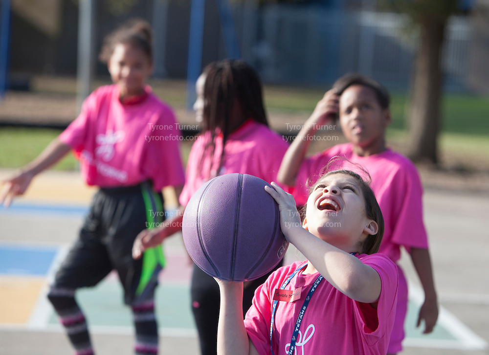 Playworks<br /> <br /> <br /> Cummings Elementary School<br /> 10455 S Kirkwood Rd, Houston, TX 77099<br /> <br /> Girls basketball practice