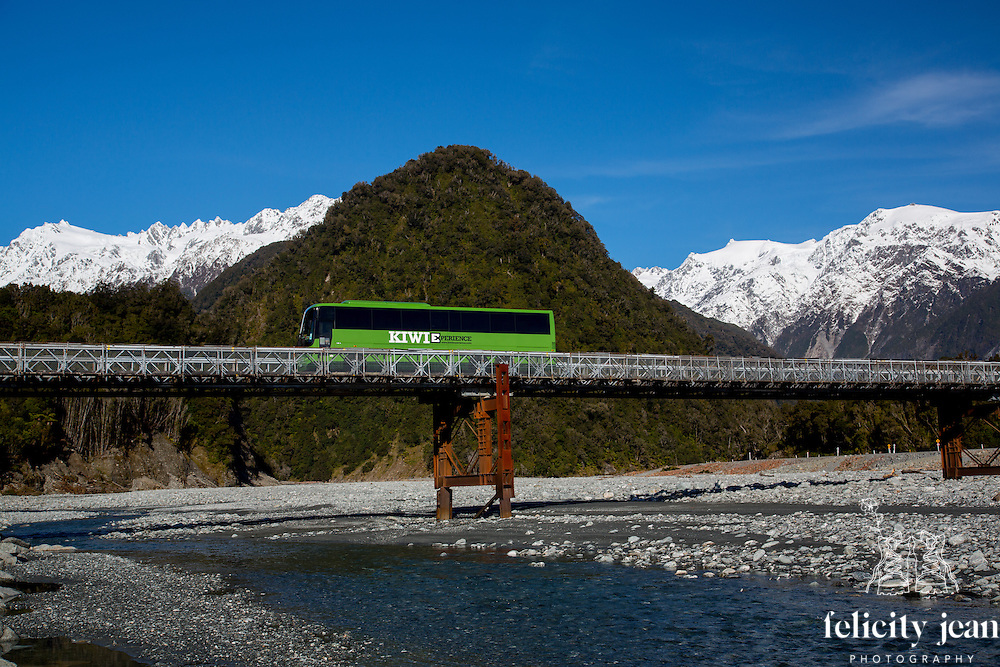 kiwi experience bus photos north and south island new zealand queenstown remarkable and franz josef west coast by coromandel photographer felicity jean photography fleaphotos Adventure tourism and travel  photography through New Zealand by fleaphotos felicity jean photographer a Coromandel Peninsula based photographer