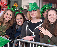 17/03/2013 Participants in the Galway St Patrick's Day Parade.Picture:Andrew Downes.
